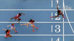 Eunice Jepkoech Sum of Kenya wins the women's 800 metres final at the IAAF World Athletics Championship