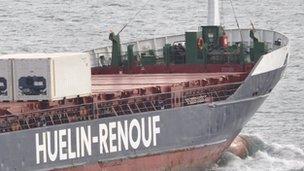 The Huelin Endeavour