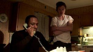 Mos Def and John Hawkes in Life of Crime