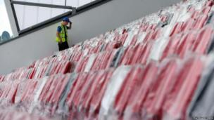 Two of the three new stands are almost complete, seeing the ground's capacity rise from 11,400 to 18,000.