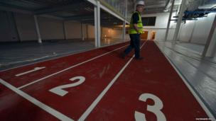 The new 'Aquinas' stand will feature the new family area, providing a range of facilities including changing facilities, treatment room and an indoor training surface.