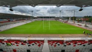 The first match in the re-developed venue is this Friday when Ulster take on Leinster in a pre-season match.