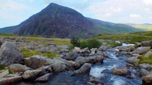 Pen yr Ole Wen and Ogwen Valley