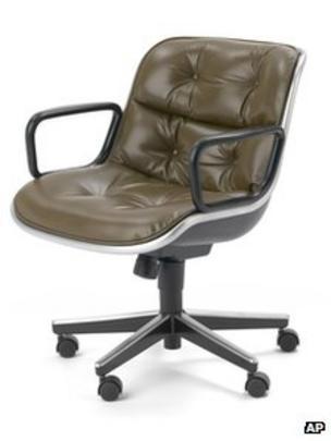 Incroyable Pollock Executive Chair