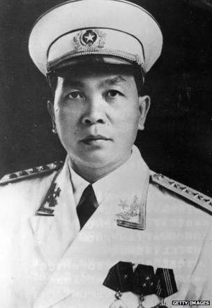 North Vietnamese military leader General Nguyen Vo Giap. 15th February 1968