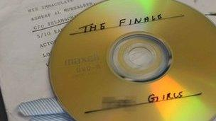 The DVD sent to the mosques