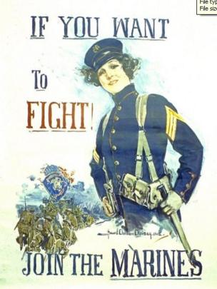 World War I poster
