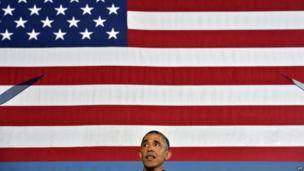 US President Barack Obama speaks on education at the Henninger High School on 22 August, 2013 in Syracuse, New York.
