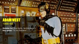 Adam West in Batman
