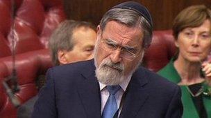 Chief Rabbi Lord Sacks
