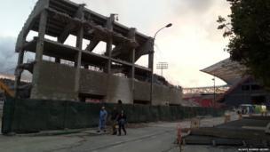 San Mamés Stadium, Bilbao. Photo: Aloaye Norris Adoro