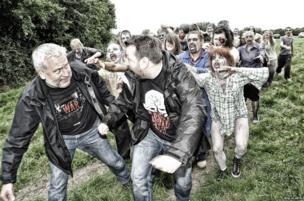 Scare Tours organisers chased by zombies