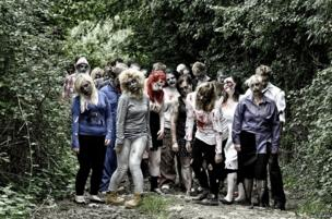 Zombies gather in Quemerford