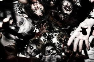 Zombies in a scrum