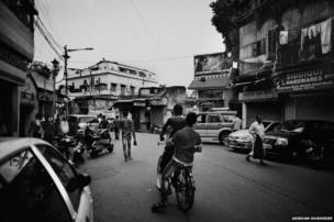 Ripon Street in central Calcutta