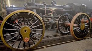 Engine shed