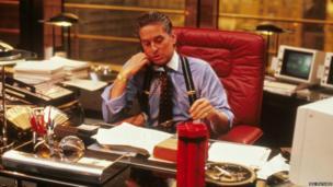 Michael Douglas in Wall Street