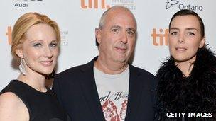 Roger Michell with Laura Linney and Olivia Williams