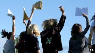 Many pupils who picked up their GCSE results last week will attend FE colleges