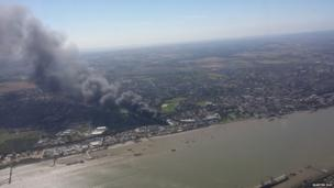 Smoke over Gravesend