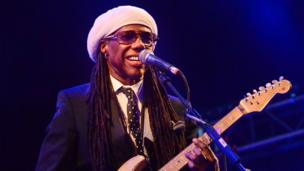 Nile Rodgers from Chic