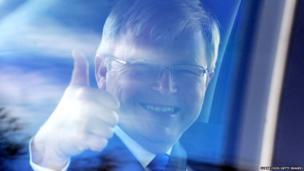 Prime Minister Kevin Rudd leaves ABC Melbourne radio