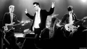 The Smiths on stage