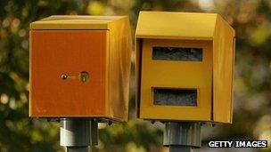 Speed cameras (file pic)