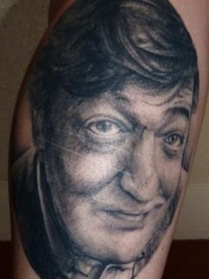 Tattoo of Stephen Fry
