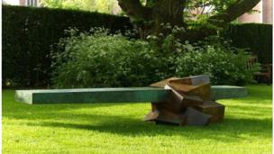 A sculpture by Bruce Beasley
