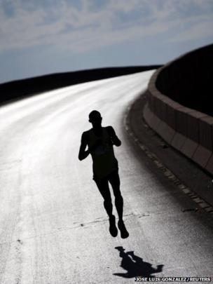Kenyan athlete Robert Kiprotich