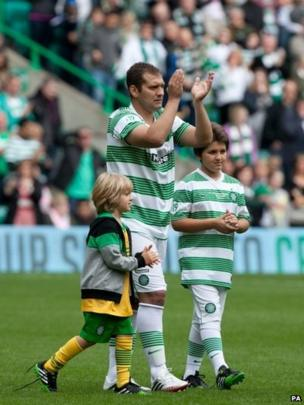 Stiliyan Petrov and his two sons