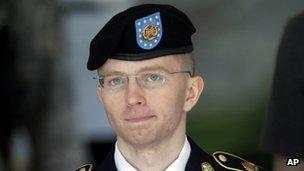 Bradley Manning in uniform