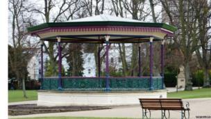 Bandstand at Montpellier Gardens in Cheltenham