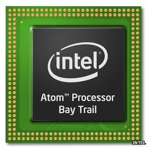 Intel Bay Trail Atom chips challenge ARM for tablets - BBC News