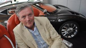 Victor Muller, CEO of Spyker Cars