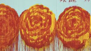 The Rose by Cy Twombly