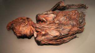 bog body