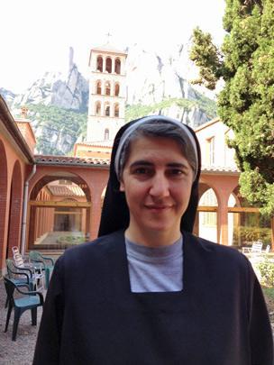 Sister Teresa in Montserrat