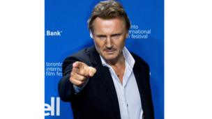 Liam Neeson at a photocall for Third Person