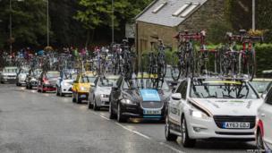 Tour of Britain in Selkirk. Photo: Nick Silverstein