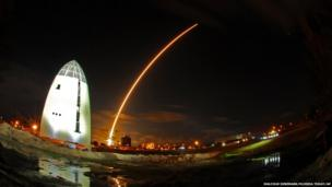 A United Launch Alliance Atlas V rocket launches
