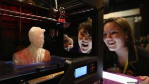A 3D model of Nick Clegg