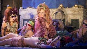 Sheridan Smith and the cast of A Midsummer Night's Dream