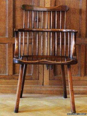 Bodleian Library Windsor Chair design