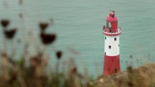 Beachy Head Lighthouse near Eastbourne, Sussex