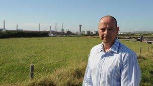 Chris Jackson at Sellafield