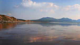 Dinas Dinlle near Caernarfon