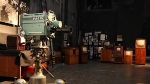 BBC Studio A camera