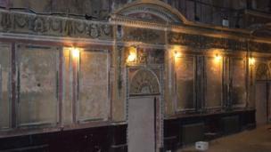 Alexandra Palace's Victorian Theatre